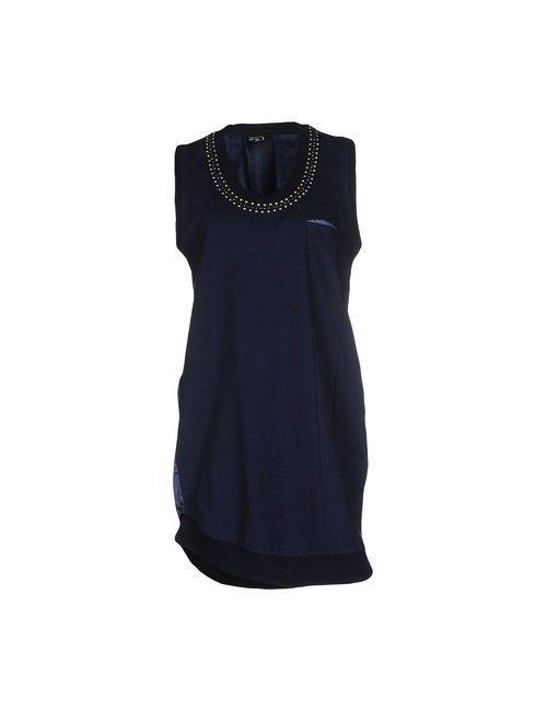 Twin-Set Jeans | Женское Синее Короткое Платье