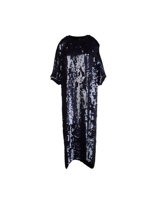 FAP  FILLES A PAPA | Женское Синее Платье До Колена