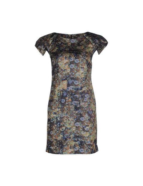 Brian Dales | Женское Серое Короткое Платье
