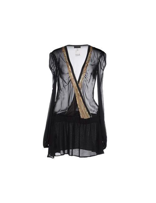 John Richmond | Женское Чёрное Короткое Платье