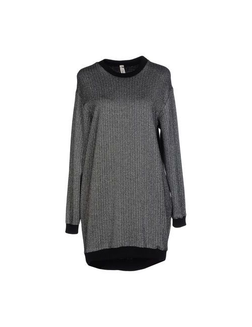 SOUVENIR | Женское Серебристое Короткое Платье