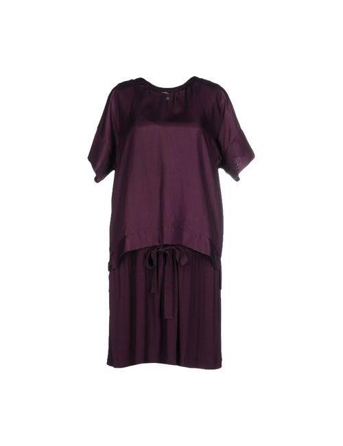 Hoss Intropia   Женское Баклажанное Короткое Платье