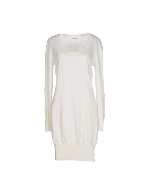 Ermanno Scervino | Женское Слоновая Костящее Короткое Платье