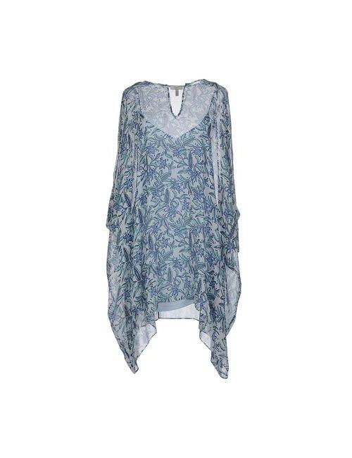 Joie | Женское Голубой Короткое Платье