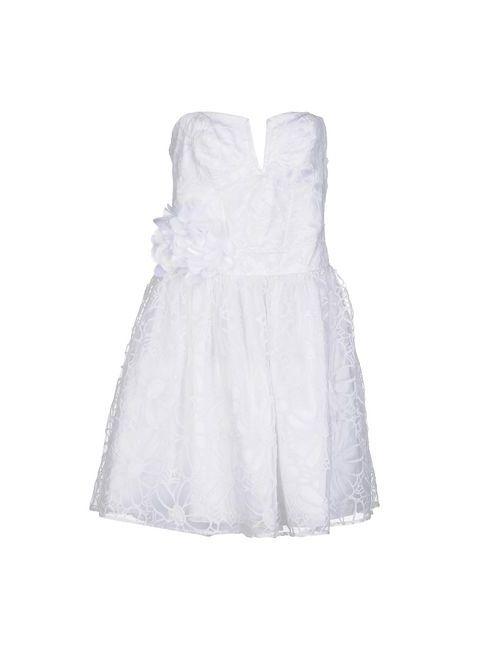Lipsy | Женское Белое Короткое Платье