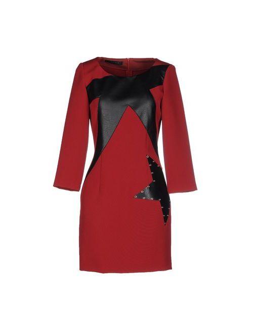 Tenax | Женское Красное Короткое Платье