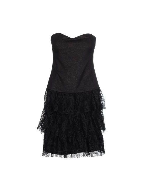 MORGAN DE TOI | Женское Чёрное Короткое Платье