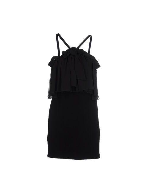 Denny Rose | Женское Чёрное Короткое Платье