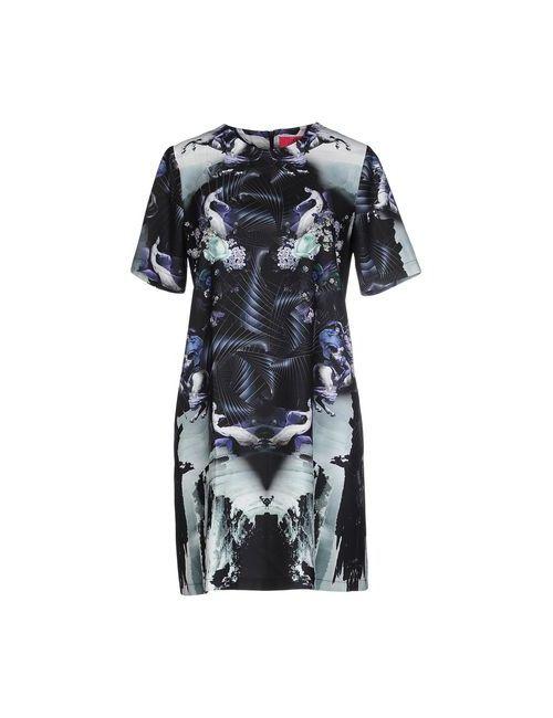 OOPS COOL | Женское Черный Короткое Платье