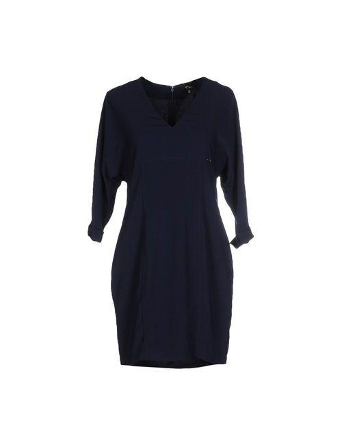 C'N'C' Costume National   Женское Синее Короткое Платье