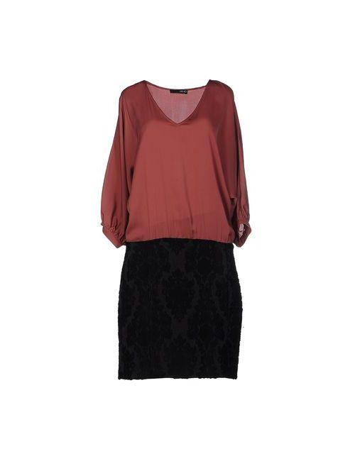 Liu •Jo | Женское Розовое Платье До Колена