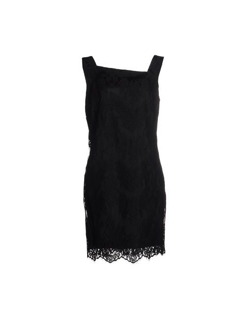 Adele Fado | Женское Чёрное Короткое Платье