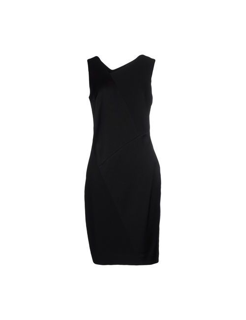 DKNY | Женское Чёрное Платье До Колена