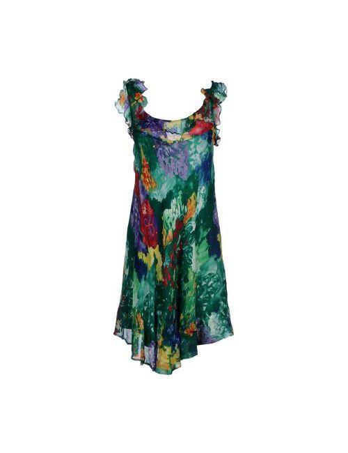Aspesi | Женское Зелёное Платье До Колена