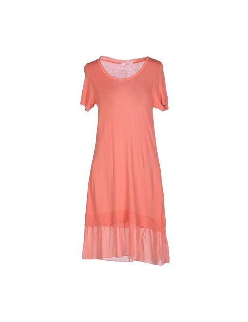 Blugirl Folies | Женское Розовое Короткое Платье