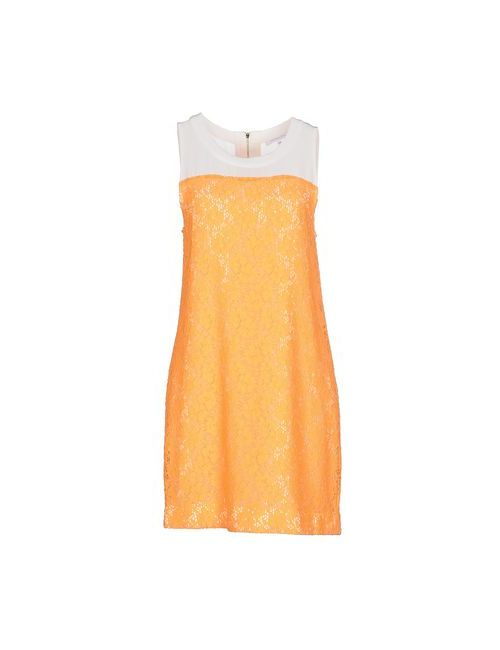 Patrizia Pepe   Женское Оранжевое Короткое Платье