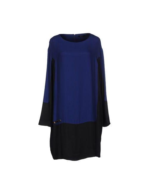 G.Sel | Женское Синее Короткое Платье