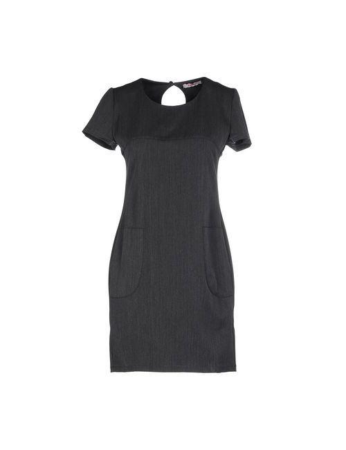 Blugirl Folies | Женское Серое Короткое Платье