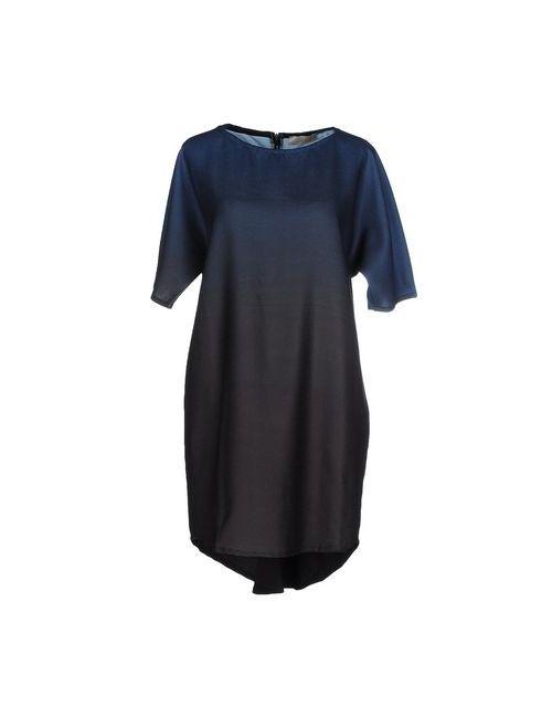 Lou Lou London   Женское Синее Короткое Платье