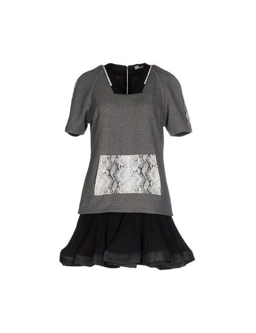 THREE FLOOR | Женское Серое Короткое Платье