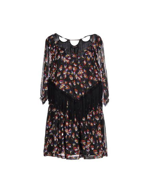 ALMAGORES   Женское Черный Короткое Платье