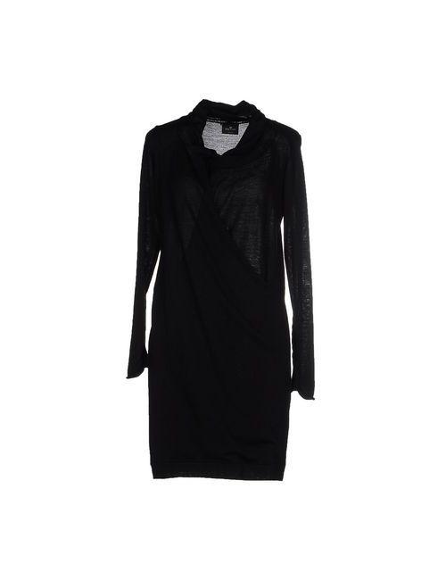 Gotha | Женское Чёрное Короткое Платье