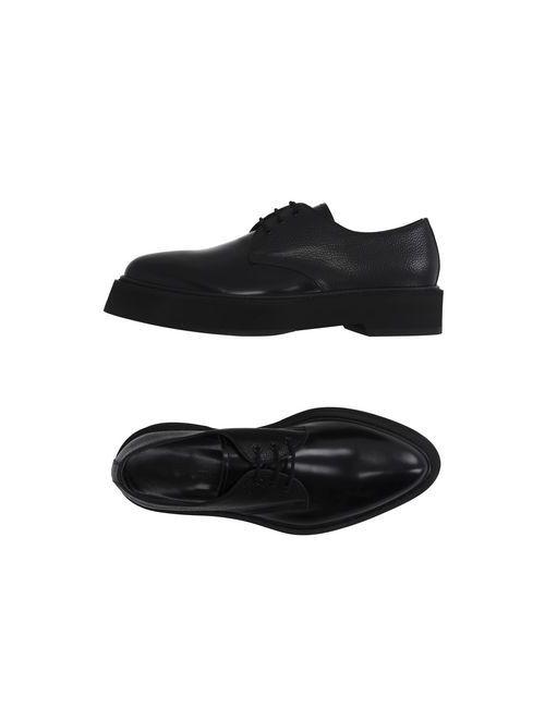 Alexander McQueen   Мужская Черный Обувь На Шнурках