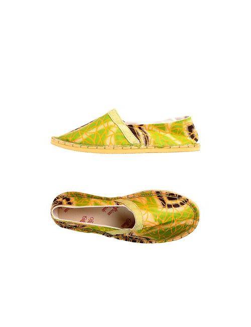 AFRICAN HANDMADE SHOES | Женские Зелёные Эспадрильи