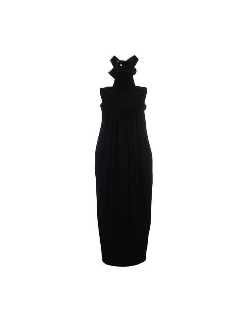 Le Coeur De Twin-Set Simona Barbieri | Женское Черный Платье До Колена