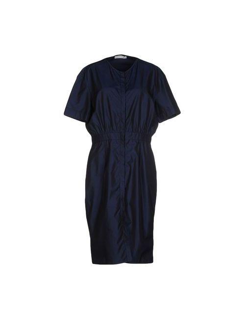 Pierre Balmain | Женское Синее Платье До Колена