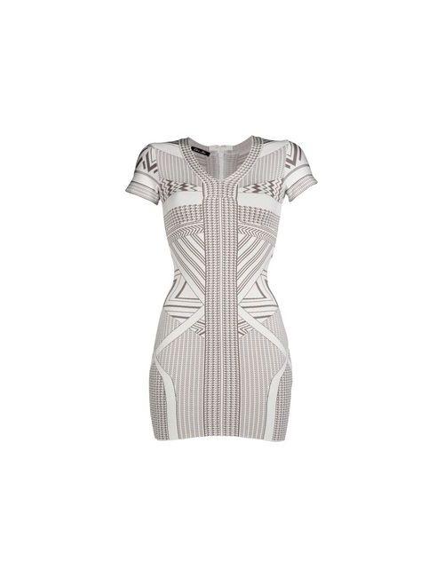 Odi Et Amo | Женское Белое Короткое Платье