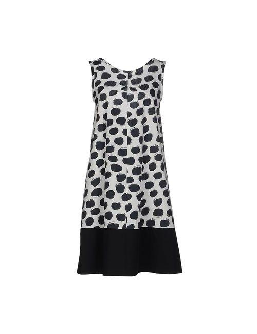 Blue Les Copains | Женское Белое Короткое Платье