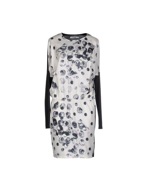 Cristinaeffe   Женское Слоновая Костящее Платье До Колена