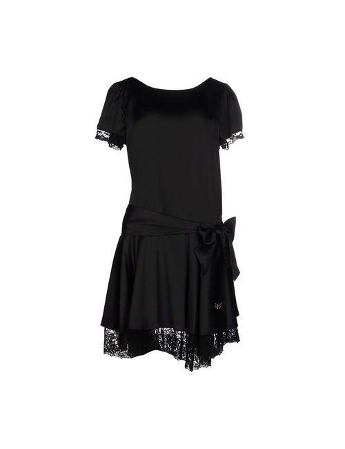 Atelier Fixdesign | Женское Чёрное Короткое Платье