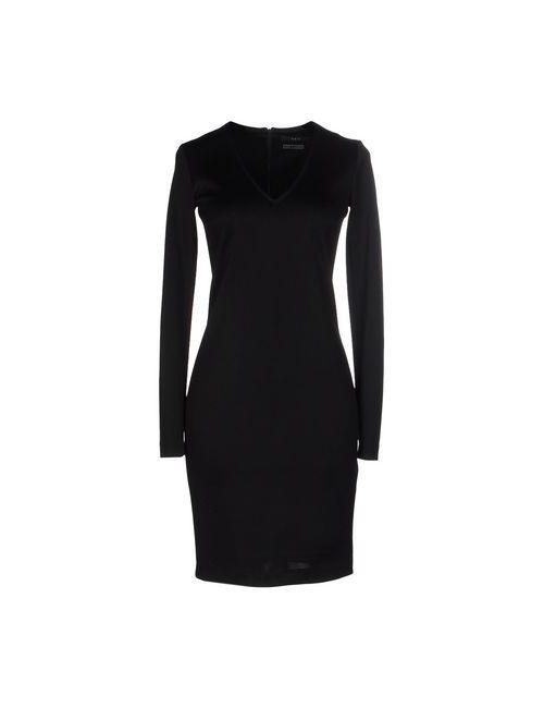 Set | Женское Чёрное Короткое Платье