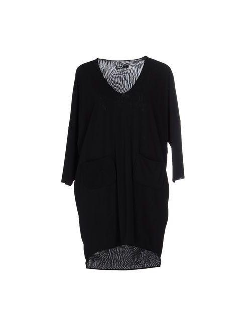 Almeria | Женское Чёрное Короткое Платье