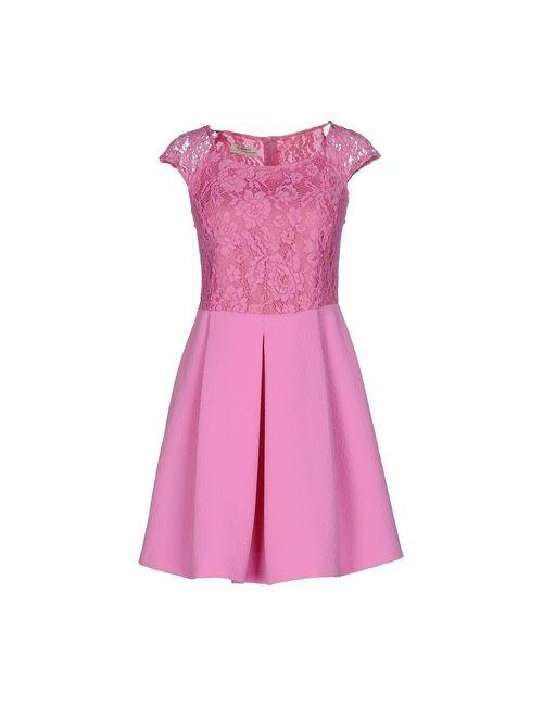 Pinko | Женское Фиолетовое Короткое Платье
