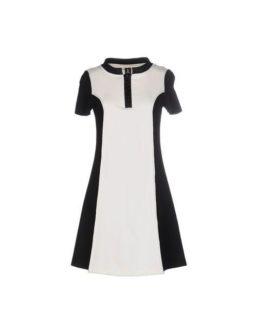1 one | Женское Белое Короткое Платье