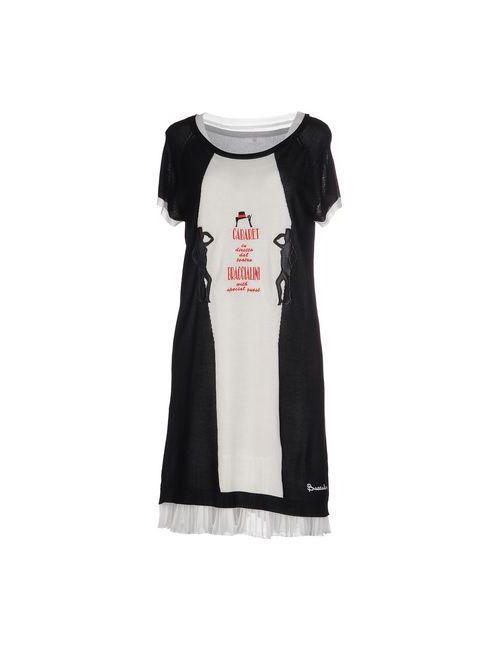 Braccialini | Женское Чёрное Короткое Платье