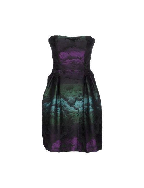 Hanita | Женское Фиолетовое Короткое Платье