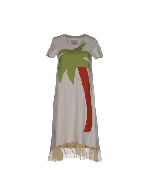 Rose' A Pois | Женское Серое Короткое Платье
