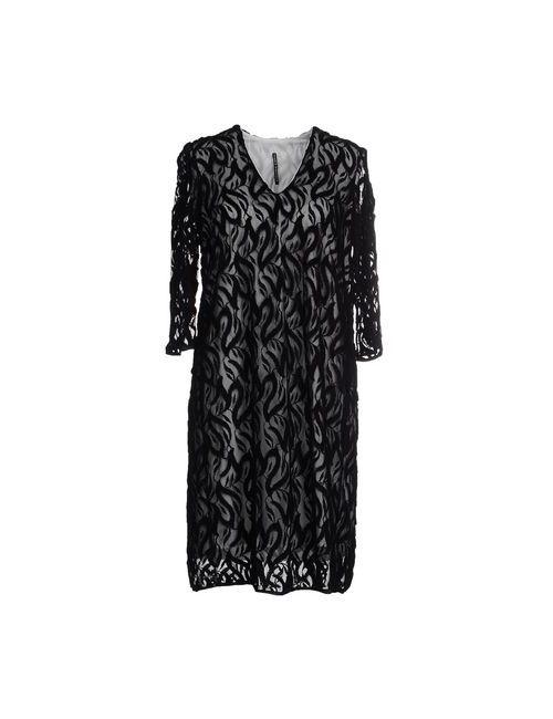 Liviana Conti | Женское Чёрное Короткое Платье