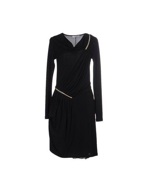 Cristinaeffe | Женское Чёрное Платье До Колена