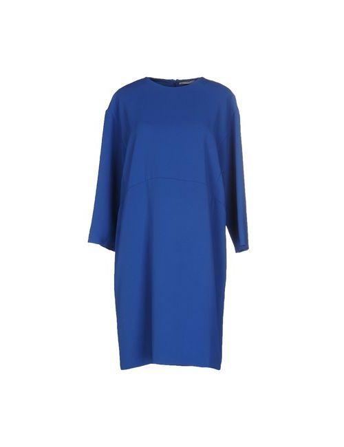 Ermanno Scervino | Женское Синее Короткое Платье