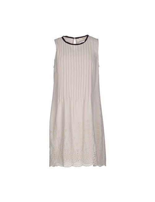 Suoli | Женское Серое Короткое Платье