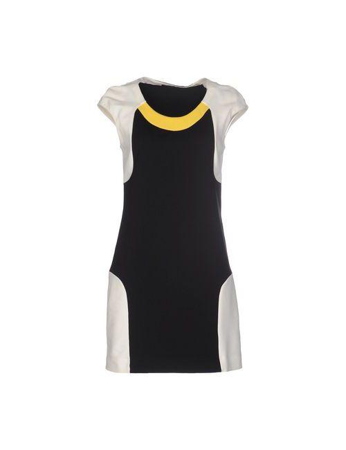 Pianurastudio | Женское Черный Короткое Платье
