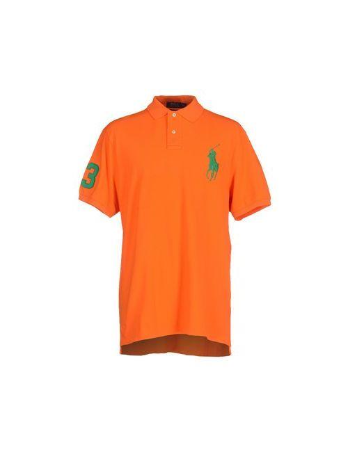 Polo Ralph Lauren | Мужское Оранжевое Поло