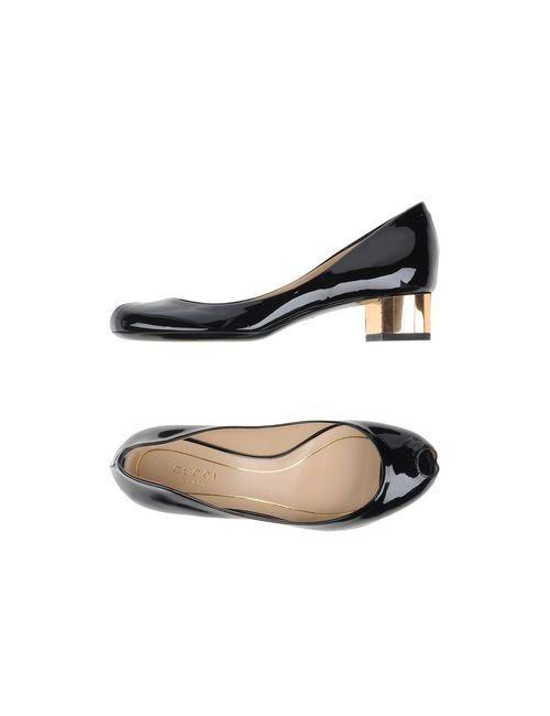 Gucci | Женские Чёрные Туфли