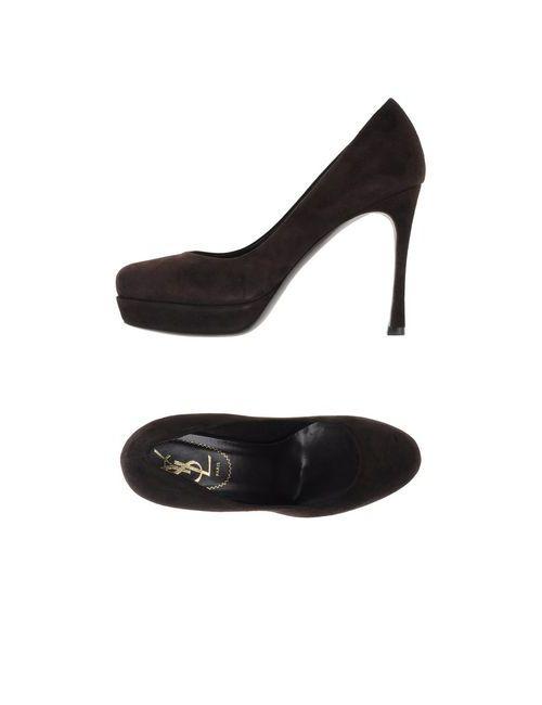Yves Saint Laurent Rive Gauche | Женские Коричневые Туфли