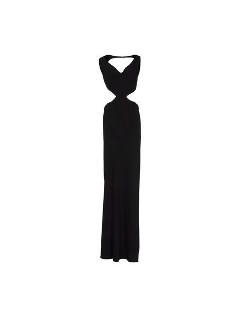Rick Owens | Женское Чёрное Длинное Платье